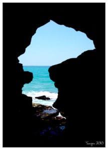 La grotte d'hercule, à Tanger
